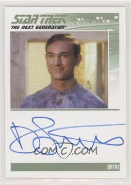 2013 Rittenhouse Star Trek The Next Generation: Heroes & Villains - Autographs #DAST - Daniel Stewart as Batai