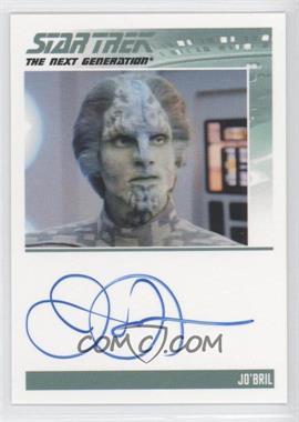 2013 Rittenhouse Star Trek The Next Generation: Heroes & Villains - Autographs #JAHO - James Horan, Jo'Bril