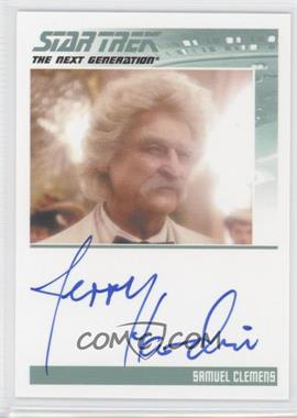 2013 Rittenhouse Star Trek The Next Generation: Heroes & Villains - Autographs #JEHA - Jerry Hardi as, Samuel Clemens