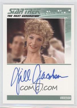 2013 Rittenhouse Star Trek The Next Generation: Heroes & Villains - Autographs #JIJA - Jill Jacobson as Vanessa