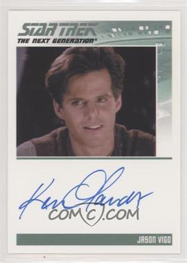 2013 Rittenhouse Star Trek The Next Generation: Heroes & Villains - Autographs #KEOL - Ken Olandt as Jason Vigo