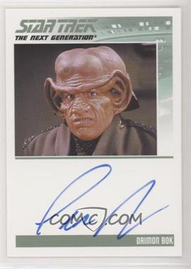 2013 Rittenhouse Star Trek The Next Generation: Heroes & Villains - Autographs #LEAR - Lee Arenberg as Daimon Bok
