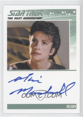 2013 Rittenhouse Star Trek The Next Generation: Heroes & Villains - Autographs #MAMA - Marie Marshall as Kelsey