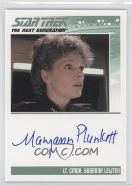 2013 Rittenhouse Star Trek The Next Generation: Heroes & Villains - Autographs #MAPL - Maryann Plunkett as Lt. Commander Susanna Leijten