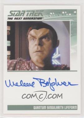 2013 Rittenhouse Star Trek The Next Generation: Heroes & Villains - Autographs #MIBO - Michael Bofshever as Quantum Singularity Lifeform