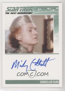 2013 Rittenhouse Star Trek The Next Generation: Heroes & Villains - Autographs #MICO - Mickey Cottrell as Chancellor Alrik