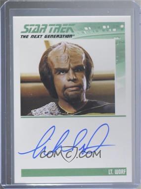 2013 Rittenhouse Star Trek The Next Generation: Heroes & Villains - Autographs #MIDO - Michael Dorn as Lt. Worf