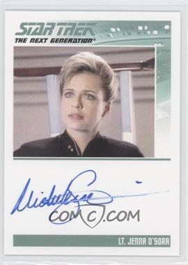 2013 Rittenhouse Star Trek The Next Generation: Heroes & Villains - Autographs #MISC - Michele Scarabelli as Lt. Jenna D'Sora