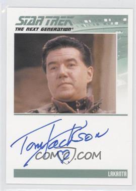 2013 Rittenhouse Star Trek The Next Generation: Heroes & Villains - Autographs #TOJA - Tom Jackson, Lakanta