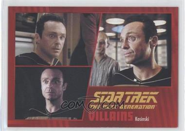 2013 Rittenhouse Star Trek The Next Generation: Heroes & Villains - [Base] #31 - Kosinski