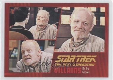 2013 Rittenhouse Star Trek The Next Generation: Heroes & Villains - [Base] #42 - Dr. Ira Graves