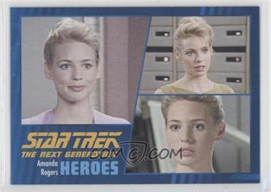 2013 Rittenhouse Star Trek The Next Generation: Heroes & Villains - [Base] #53 - Amanda Rogers