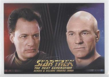 2013 Rittenhouse Star Trek The Next Generation: Heroes & Villains - Promos #P1 - Q, Captain Jean-Luc Picard