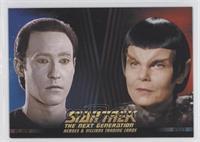 Lt. Commander Data, Romulan