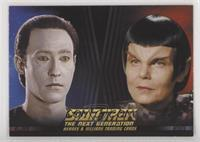 Lt. Commander Data, Romulan [EXtoNM]