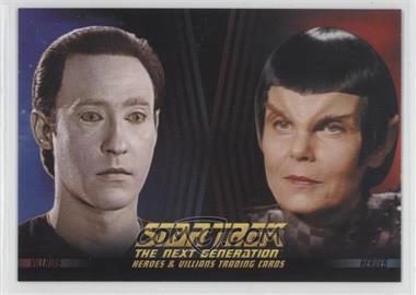 2013 Rittenhouse Star Trek The Next Generation: Heroes & Villains - Promos #P2 - Lt. Commander Data, Romulan