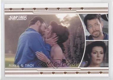 2013 Rittenhouse Star Trek The Next Generation: Heroes & Villains - TNG Romance #L9 - Commander William Riker, Troia