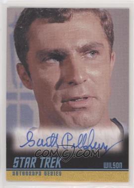 2013 Rittenhouse Star Trek The Original Series: Heroes & Villians - Autographs #A255 - Garth Pillsbury as Wilson