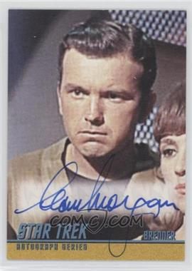 2013 Rittenhouse Star Trek The Original Series: Heroes & Villians - Autographs #A258 - Sean Morgan as Brenner