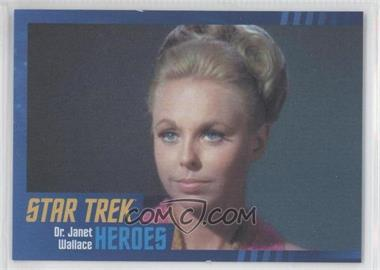 2013 Rittenhouse Star Trek The Original Series: Heroes & Villians - [Base] - Cardboard #54 - Dr. Janet Wallace