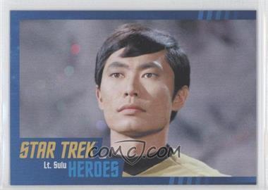 2013 Rittenhouse Star Trek The Original Series: Heroes & Villians - [Base] - Cardboard #6 - Lt. Sulu