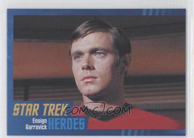 2013 Rittenhouse Star Trek The Original Series: Heroes & Villians - [Base] - Cardboard #64 - Ensign Garrovick