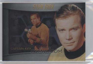 2013 Rittenhouse Star Trek The Original Series: Heroes & Villians - Bridge Crew Shadowbox #S1 - William Shatner (as Captain Kirk)