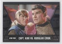 Capt. Kirk vs. Romulan CMDR.