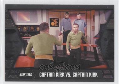 2013 Rittenhouse Star Trek The Original Series: Heroes & Villians - Kirk's Epic Battles #GB9 - Captain Kirk vs. Captain Kirk