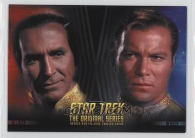 2013 Rittenhouse Star Trek The Original Series: Heroes & Villians - Promos #P1 - Khan, Captain Kirk