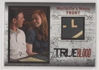 Merlotte's Menu Front #/299