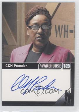2013 Rittenhouse Warehouse 13 Season 3 Premium Packs - Autographs #N/A - CCH Pounder as Mrs. Frederic