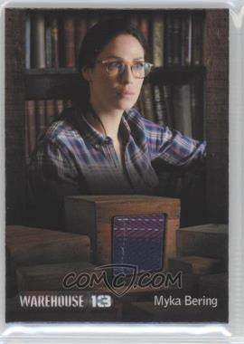 "2013 Rittenhouse Warehouse 13 Season 4: Episodes 1-10 Premium Packs - Costume #JKMB - Joanne Kelly as Myka Bering (episode ""The New Guy"") /450"