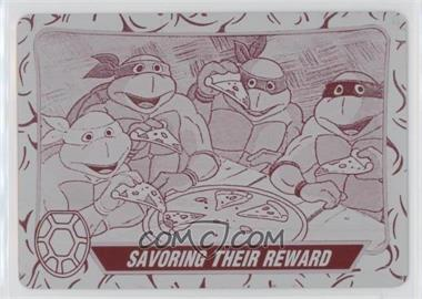 2013 Topps 75th Anniversary - [Base] - Printing Plate Magenta #93 - Teenage Mutant Ninja Turtles /1