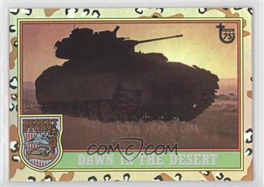 2013 Topps 75th Anniversary - [Base] - Rainbow Foil #98 - Desert Storm
