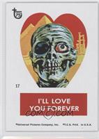 Frankenstein Valentine Stickers