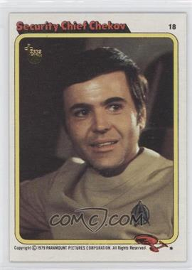 2013 Topps 75th Anniversary - Original Buybacks - Topps 75th #79ST-18 - 1979 Star Trek