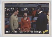 Historic Encounter on the Bridge