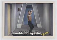 Swashbuckling Sulu!