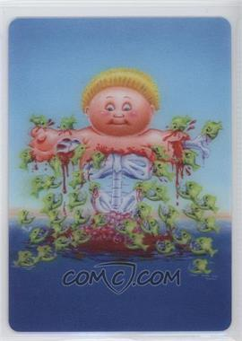 2013 Topps Garbage Pail Kids Brand-New Series 2 - 3D #7 - Piranha Finn