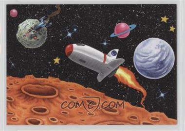 2013 Topps Garbage Pail Kids Brand-New Series 3 - Sticker Scenes #9 - Outer Space