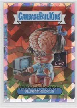 2013 Topps Garbage Pail Kids Chrome - [Base] - Atomic Refractor #27b - Jenny Genius