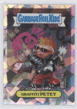 2013 Topps Garbage Pail Kids Chrome - [Base] - Atomic Refractor #30b - Graffiti Petey