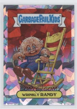 2013 Topps Garbage Pail Kids Chrome - [Base] - Atomic Refractor #35a - Wrinkly Randy