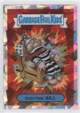 2013 Topps Garbage Pail Kids Chrome - [Base] - Atomic Refractor #4b - Electric Bill