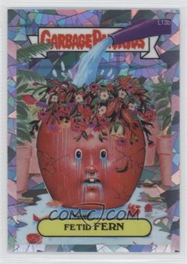2013 Topps Garbage Pail Kids Chrome - [Base] - Atomic Refractor #L13b - Fetid Fern