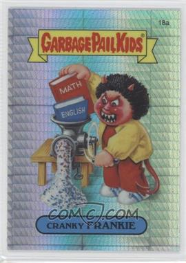 2013 Topps Garbage Pail Kids Chrome - [Base] - Prism Refractor #18a - Cranky Frankie