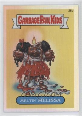2013 Topps Garbage Pail Kids Chrome - [Base] - Refractor #28b - Meltin' Melissa