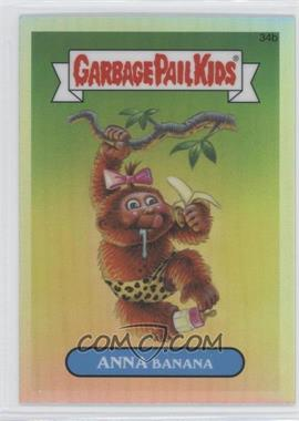 2013 Topps Garbage Pail Kids Chrome - [Base] - Refractor #34b - Anna Banana