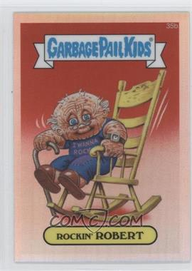 2013 Topps Garbage Pail Kids Chrome - [Base] - Refractor #35b - Rockin' Robert